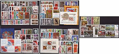 XG-H784 RUSSIA - Year Set, 1968 Complete As Per Scan, Olympic Games... MNH