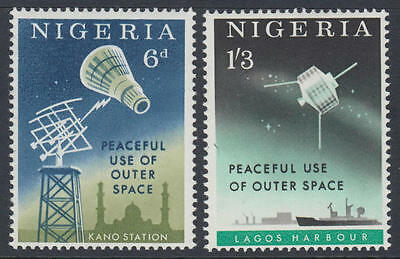 XG-H950 SPACE - Nigeria, 1963 Peaceful Use Of Outer Space MNH Set