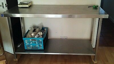 commercial stainless steel Kitchen table