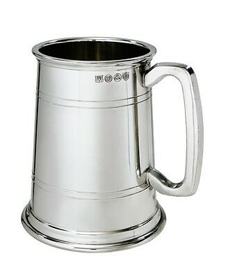 Double Lined 1 Pint Heavy Pewter Tankard by Wentworth. From Superior Range
