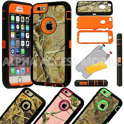 12 TPU Shockproof Defender Camo Case Wholesale Lot For Apple iPhone 6 6S Plus