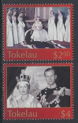 XG-U013 TOKELAU ISLANDS - QEII, 2003 Coronation Anniversary MNH Set