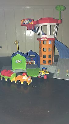 Little People Fisher Price Airport And Cars