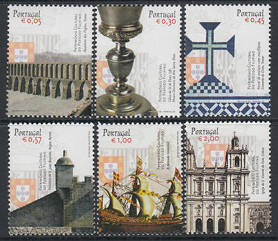 XG-U285 PORTUGAL - Architecture, 2005 Archaeology, Cultural Heritage MNH Set