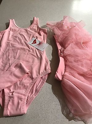 Girls Size 6-8 Active Clothes Ballet Dance Wear New With Tags Never Worn