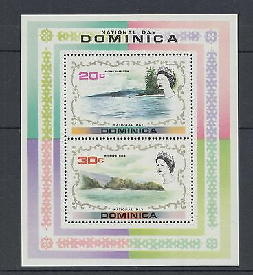 XG-I413 DOMINICA IND - Sheet, 1972 National Day MNH