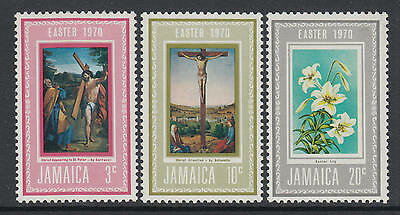 XG-I533 JAMAICA IND - Paintings, 1970 Easter, Carracci, Antonello MNH Set