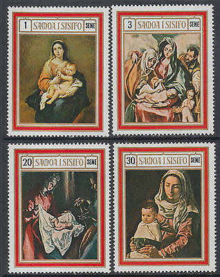 XG-I648 SAMOA I SISIFO - Paintings, 1969 4 Values MNH Set