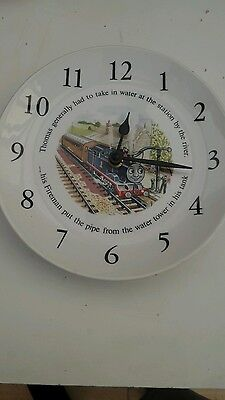 Vintage Thomas the tank engine clock plate