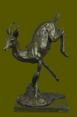 Bronze Standing Majestic Statue Facing Right Cast Iron Garden Feature Decor Gift