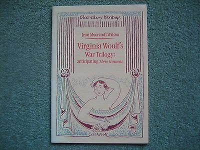 "Signed 1st Edition -  ""Virginia Woolf's War Trilogy."" Bloomsbury Group interest."