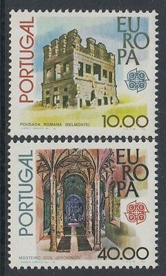 XG-J546 PORTUGAL - Europa Cept, 1978 Architecture, Archaeology MNH Set