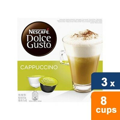 Dolce Gusto Cappuccino 3 x 8