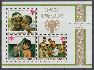 XG-J647 COOK ISLANDS IND - Children, 1979 Intl. Year Of The Child MNH Sheet