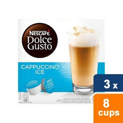 Dolce Gusto Cappuccino Ice 3  x 8