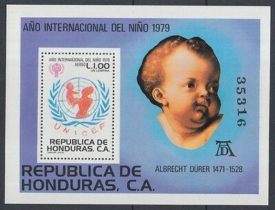 XG-K112 HONDURAS - Paintings, 1979 International Year Of The Child MNH Sheet