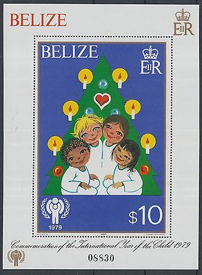 XG-K128 BELIZE - Children, 1980 International Year Of The Child MNH Sheet