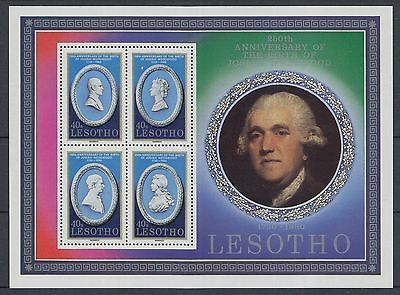 XG-K140 LESOTHO - Paintings, 1980 250Th Anniversary Of Josiah Wedgwood MNH Sheet