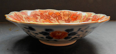 Japanese Fukagawa Imari Porcelain Bowl - Early20Th Century