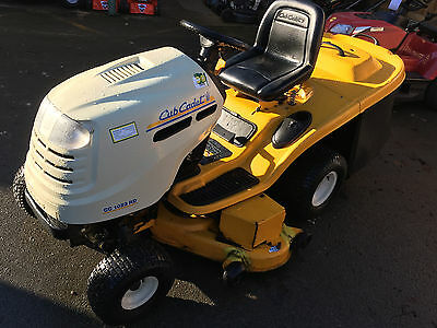 Cub Cadet Cc 1023 Rd Ride On Mower. In Fully Working Order Mtd Lawnflite Mower