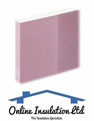 Knauf Fire Panel, Fire Rated Plasterboard 12.5mm 1200x2400mm **25 Sheet Deal **