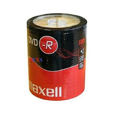 100 Maxell DVD-R  Vierges