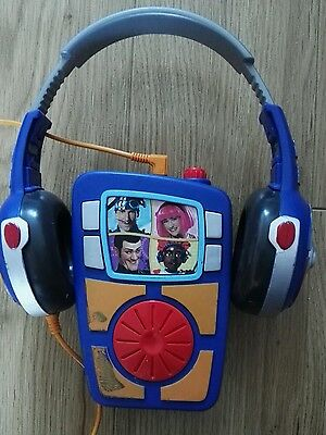 Lazytown Sportacus Radio Walkman With Headphones plays songs from the show