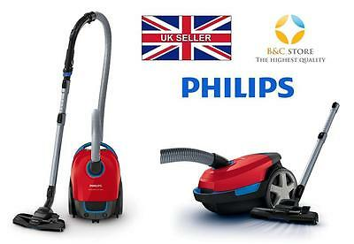 NEW Philips Performer FC8373/09 compact modern VACUUM CLEANER red BESTSELLER