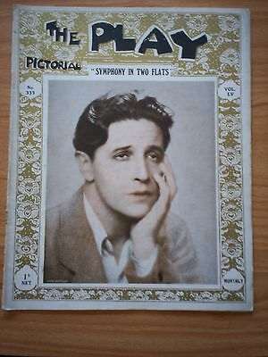THE PLAY PICTORIAL Issue 333 Symphony in Two Flats - Ivor Novello