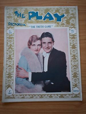 THE PLAY PICTORIAL Issue 322 The Truth Game - Lily Elsie, Ivor Novello