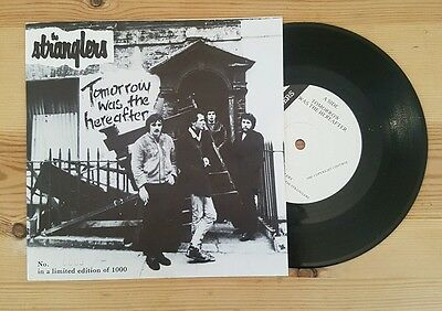 """The Stranglers - Tomorrow Was The Hereafter   7"""" Vinyl Single / Punk Numbered"""