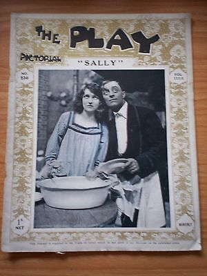 THE PLAY PICTORIAL Issue 236 Sally - Dorothy Dickson, Leslie Henson