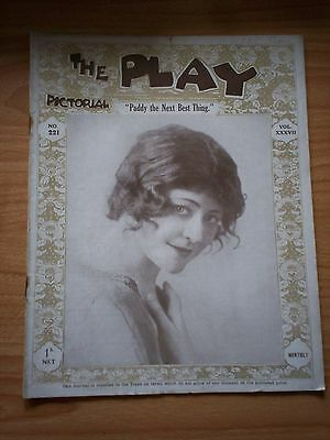 THE PLAY PICTORIAL Issue 221 Paddy the Next Best Thing