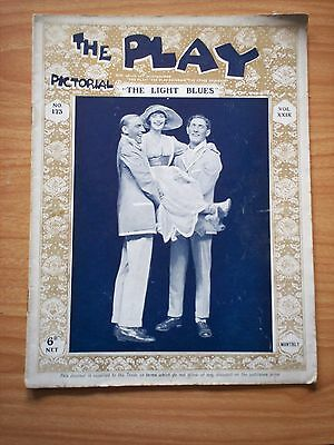 THE PLAY PICTORIAL Issue 173 The Light Blues