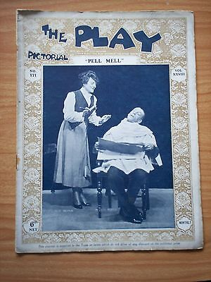 THE PLAY PICTORIAL Issue 171 Pell Mell - Mlle Delysia, Leon Morton