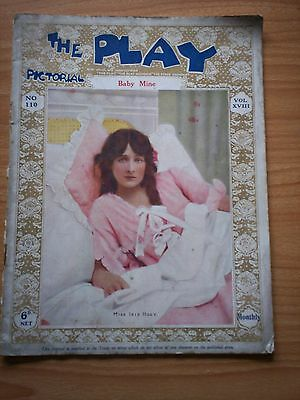 THE PLAY PICTORIAL Issue 110 Baby Mine - Iris Hoey