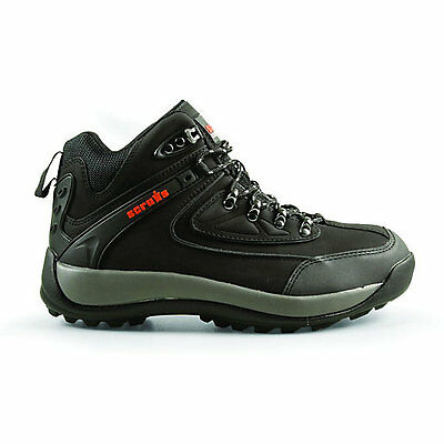 Scruffs Dover Safety Hiker Work Boots Black Size 9 Steel Toe Cap