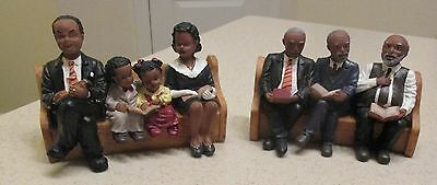 Black Church Congregation Sitting in Pews United Treasures Church Collection