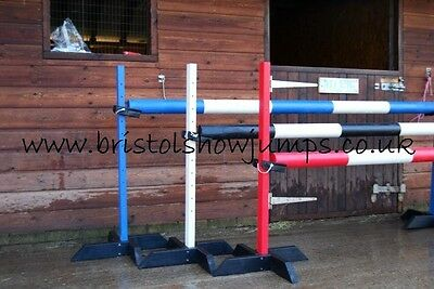 Showjumps Training Stands Pole & Cups Bristol Show Jumps Rbw Keyhole Tracks