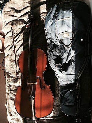 Full size 4/4 NEW Stentor student 1 Cello with bow and case
