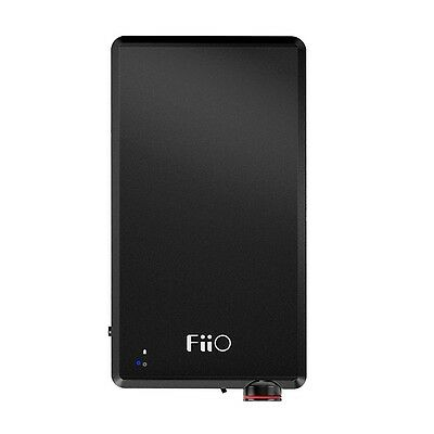 FiiO A5 High Power Portable Headphone Amplifier & E12 Mont Blanc Successor BLACK