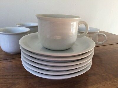 6 Thomas Trend coffee cups and saucers vgc
