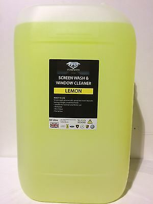 25L Lemon Screenwash Concentrated Car Windscreen Washer Fluid FREE DELIVERY