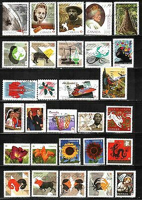 Canada 2011-2012  Collection Inc. Sets 29 Used Lt-P19.24