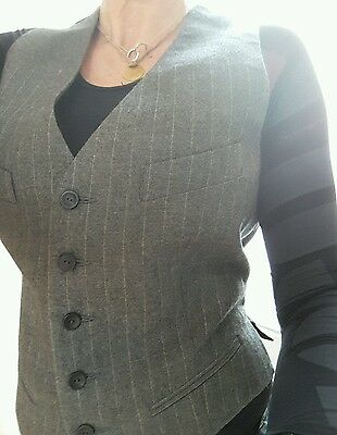 Gaultier ladies waistcoat in perfect condition and very stylish.Size 12 AeffeSpa
