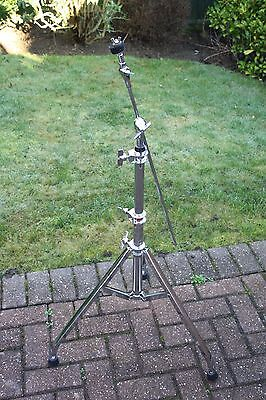 Vintage 1980s Premier TriLok Boom Arm Cymbal Stand