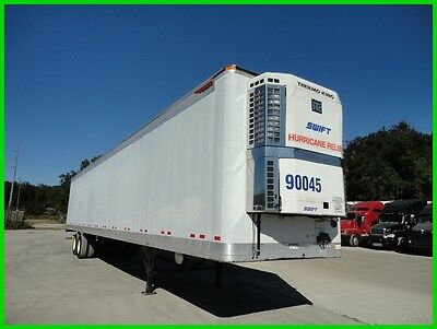 2001 Great Dane 53 Ft Reefer Multi Temp  Grocery Reefer Used