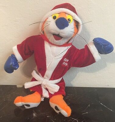 Kellogg's Frosted Flakes TEAM Tony The Tiger Plush Toy Year 2002