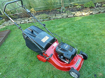 MOUNTFIELD 46R PD SELF PROPELLED 46cm ROTARY PETROL LAWNMOWER WITH REAR ROLLER