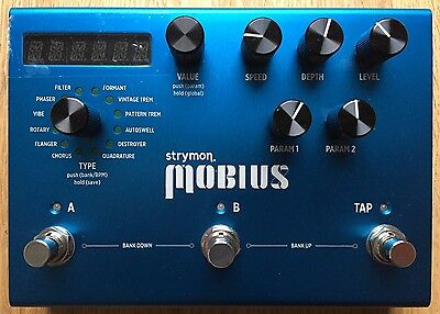 Strymon Mobius Modulation Pedal, Great Condition, Barely Used, A+